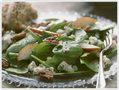 Honey-Spinach Salad