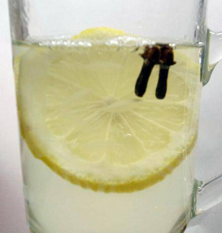 Hot Lemon Rum Toddy