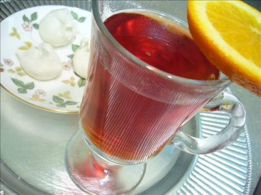 Hot Spiced Cranberry-Apple Cider - Recipegreat.com