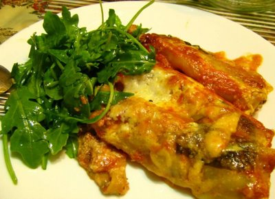 Incredible Baked Cauliflower and Broccoli Cannelloni