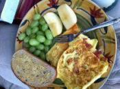 Indian Style Omelet-my Mom's Version