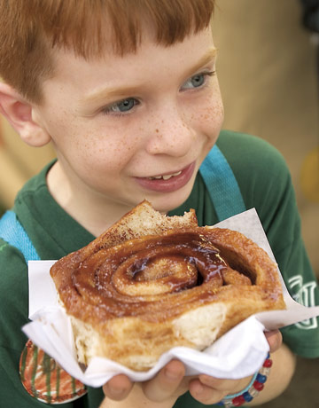 (Iowa State Fair) Sweet Dough Caramel Cinnamon Rolls