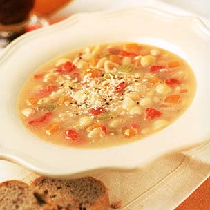 Italian Bean Soup With Pasta
