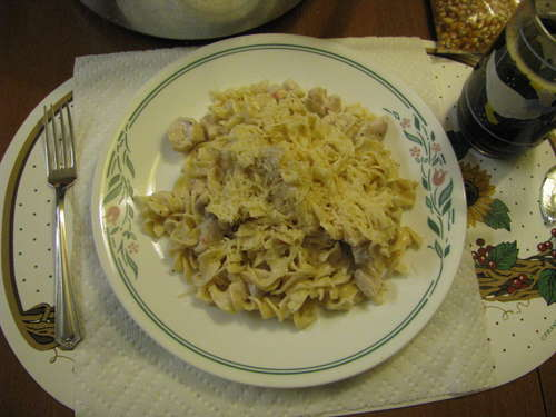 Italian Chicken With Noodles