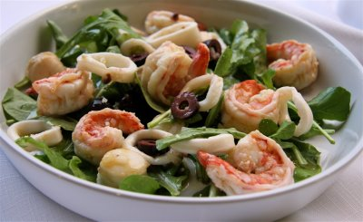 Italian Marinated Seafood Salad