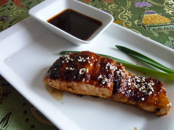 Jack Daniels Grilled Salmon
