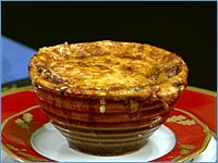 Jacques Pepin's Onion Soup Gratinee