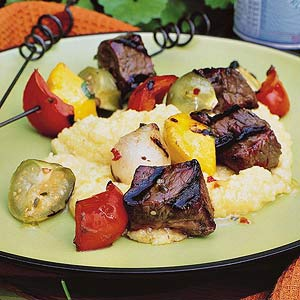 Jalapeno Beef Kabobs