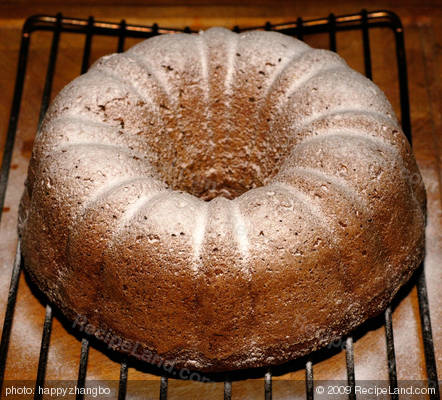 Jamaican Banana Pineapple Bundt Cake