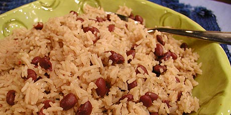 """Jamaican Rice With """"peas"""""""