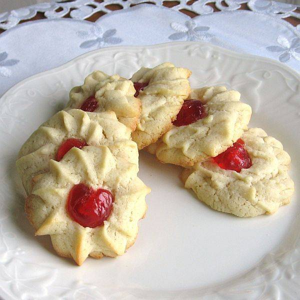 Jam/Jelly Filled Butter Cookies