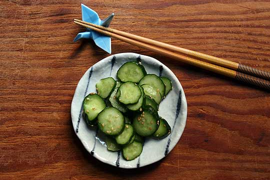 Japanese Pickled Cucumber