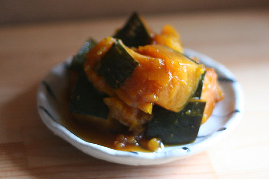 Japanese Style Simmered Sweet Kabocha