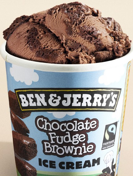Jerry's Chocolate Ice Cream