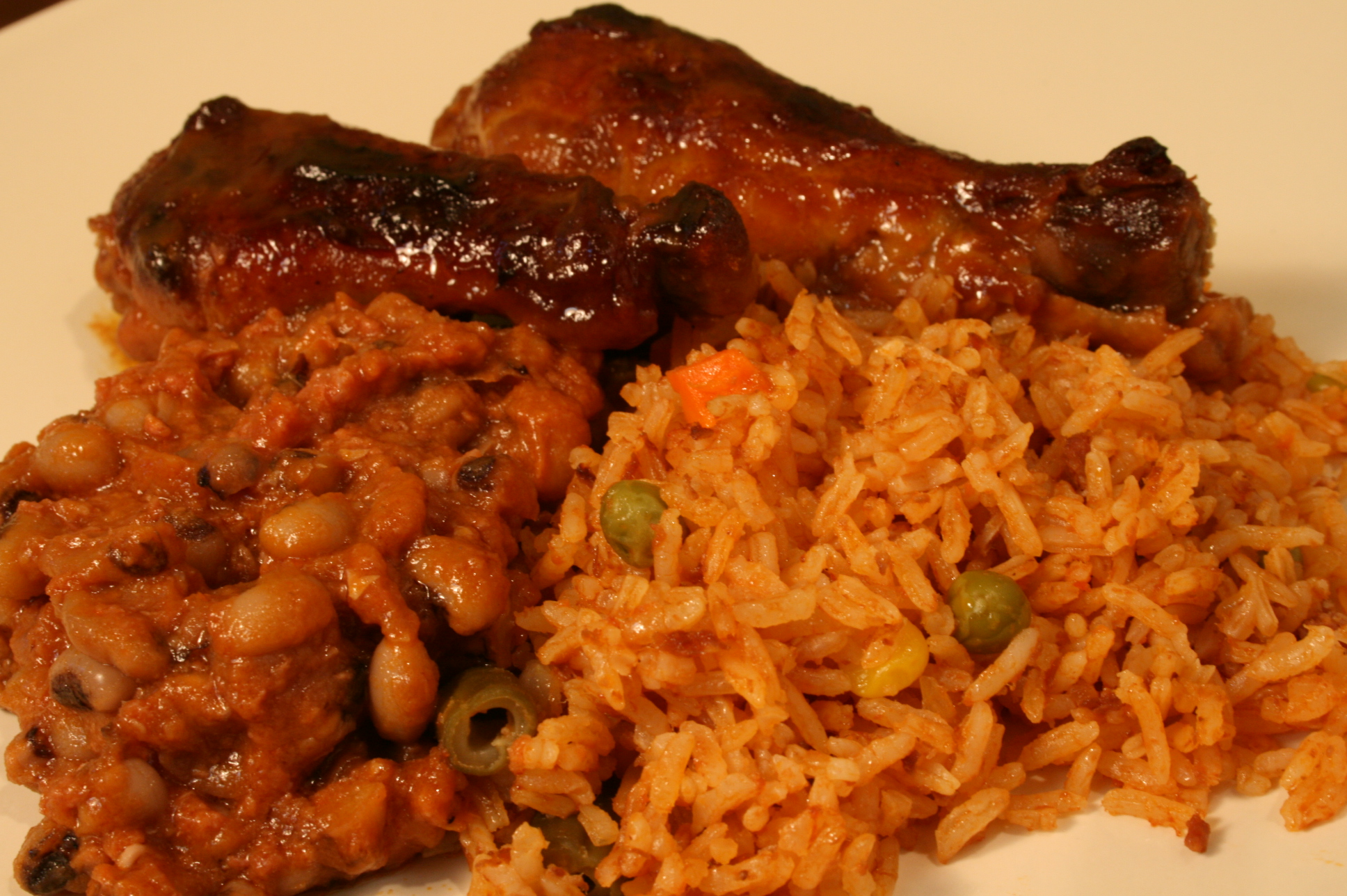 Jollof Chicken and Rice