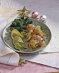 Jon's Spicy Citrus Shrimp