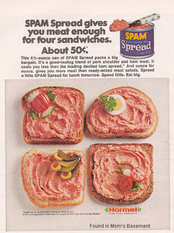 Julie's Spam Spread