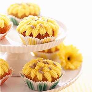 Kansas Sunflower Cupcakes