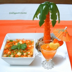 Kicked up Carrot Salad