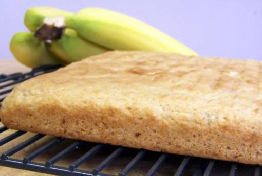 Kittencal's Banana Cinnamon Snack Cake or Muffins (Low-Fat)