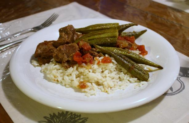 Lamb and Okra Stew