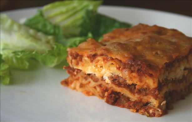 Lazy Day Lasagna (Oamc)