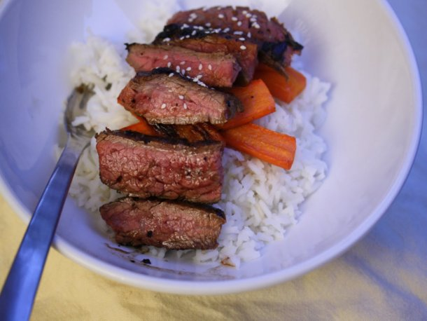 Leah's Flank Steak
