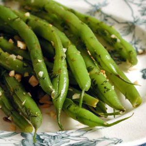 ingridients of lemon almond green beans 1 1 2 lbs green beans ends ...