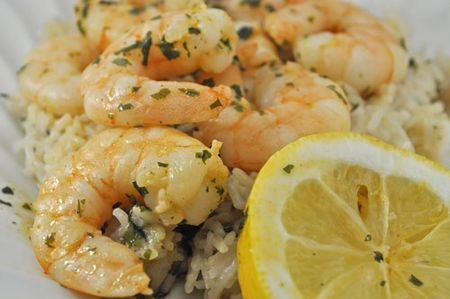 Lemon and Garlic Rice