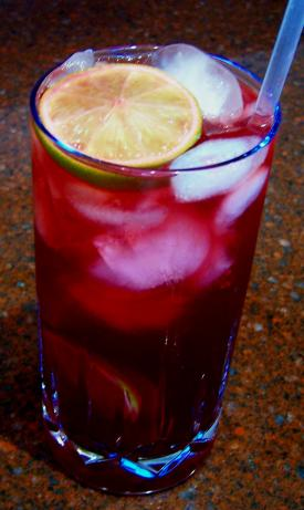 Lemon and Pomegranate Refresher