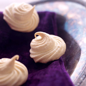 Lemon Cardamom Meringue Cookies