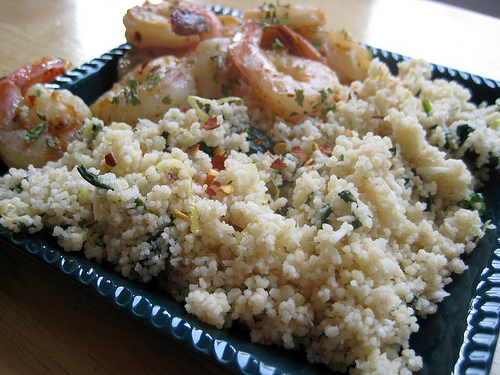Lemon Spinach Couscous