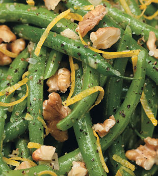 Lemon-Walnut Green Beans