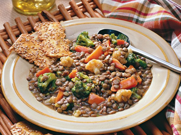 Lentil and Mixed Vegetable Casserole