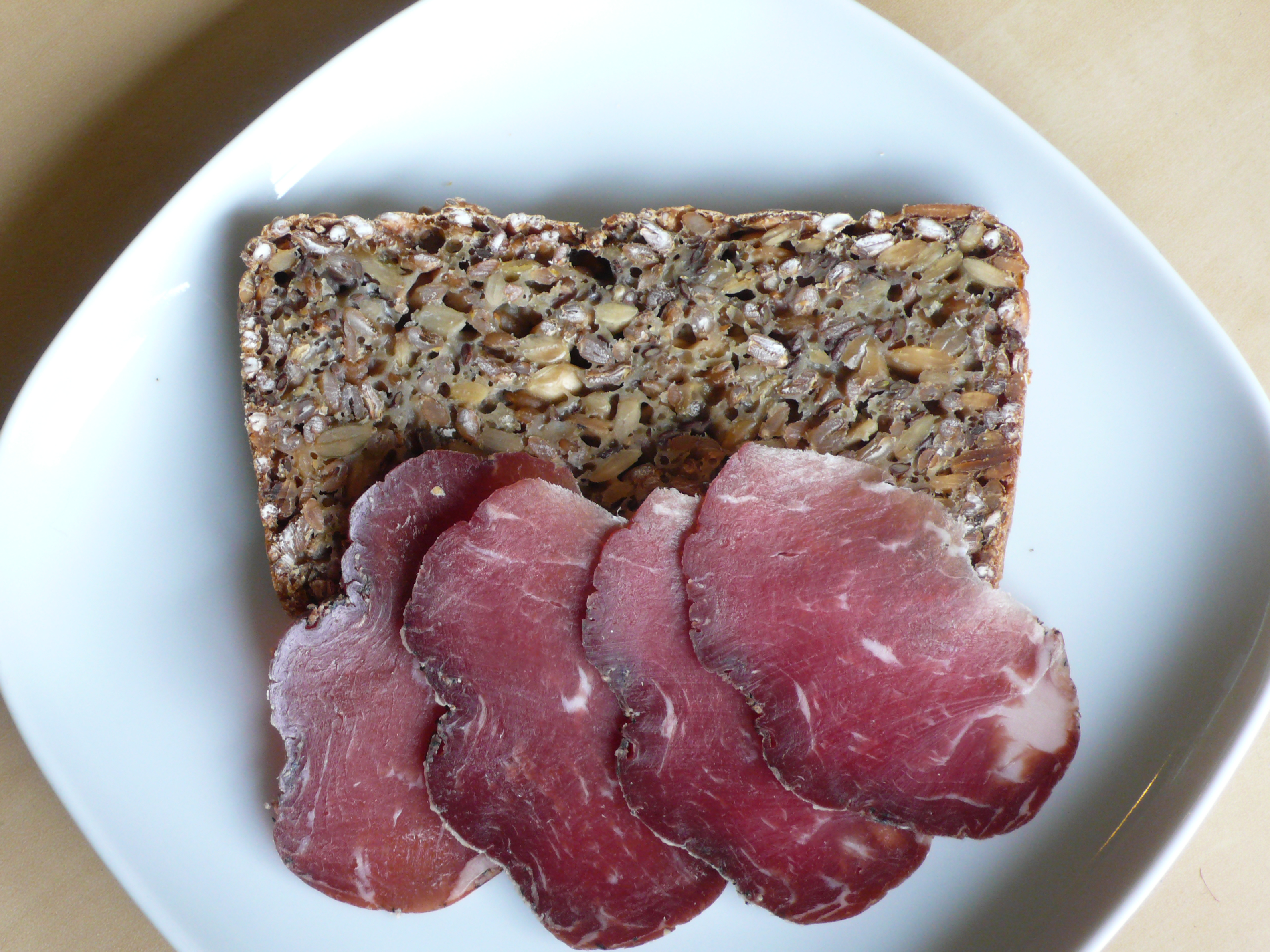 Light and Grainy Wheat, Rye, and Flax Seed Bread - Recipegreat.com