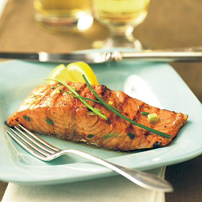 Light Orange-Roasted Salmon