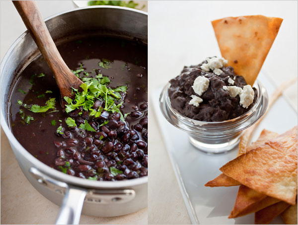 Light Refried Black Beans