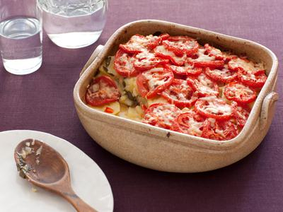 Lightened Scalloped Potatoes With Cheese