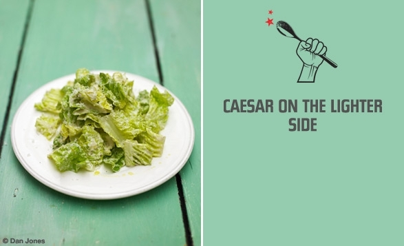 Lighter Caesar Salad Dressing