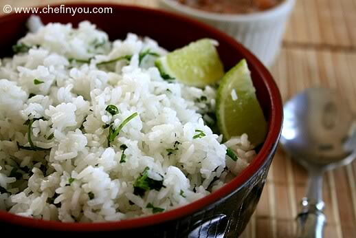Lime-Cilantro Rice