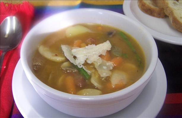 Lite and Easy Spring Vegetable Soup
