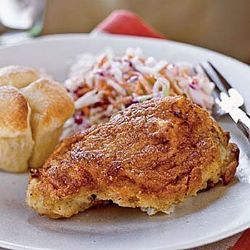 Low-Fat Bisquick Oven Fried Chicken