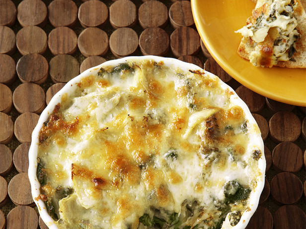 Low-Fat Hot Artichoke and Spinach Dip
