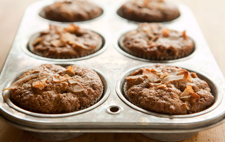 Makeover Morning Glory Muffins