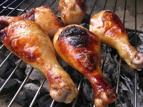 Maple-barbecued Chicken Drumsticks