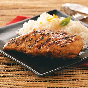 Maple-Glazed Chicken