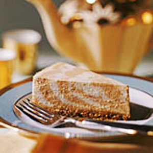 Marbled Pumpkin Cheesecake - Recipegreat.com