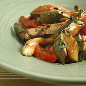 Marinated Roasted Vegetable Antipasto
