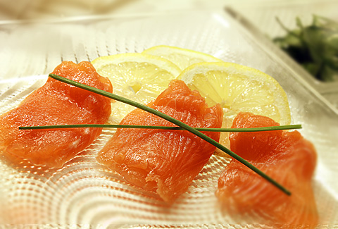 Marinated Salmon
