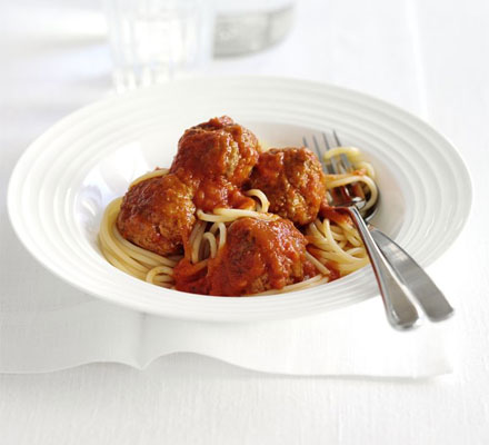 Meatballs with Pepper Sauce
